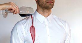 Nooit meer rode wijnvlekken op je shirt