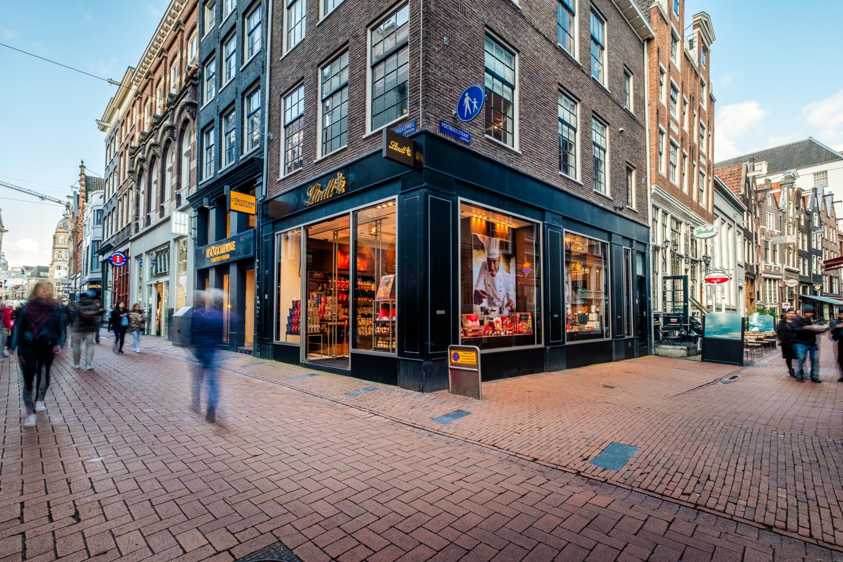 Lindt Boutique Amsterdam