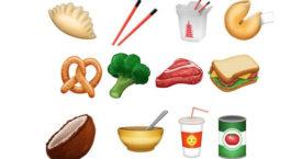 Heb jij de nieuwe food emoji's al?