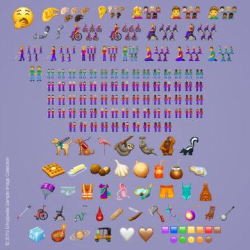 nieuwe food emoji's