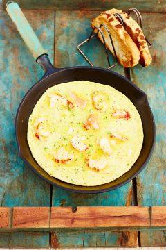 omelet kreeft