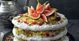 Recept: vegan pavlova met pistache en vijgen