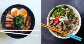 Ramen vs phở: dit zijn de verschillen