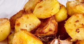 Rijsels gebakken aardappels