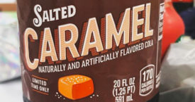 Salted caramel cola?