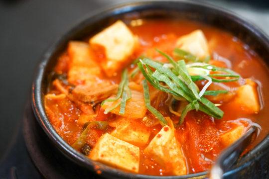 koreaanse tofu stoof