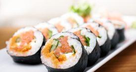 Sushi voor luilakken