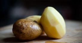 Nooit meer aardappels schillen