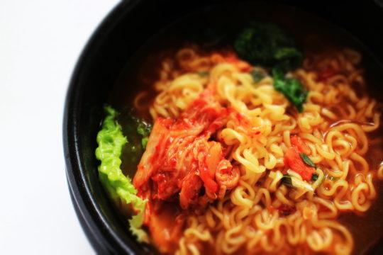Kimchi instant ramen
