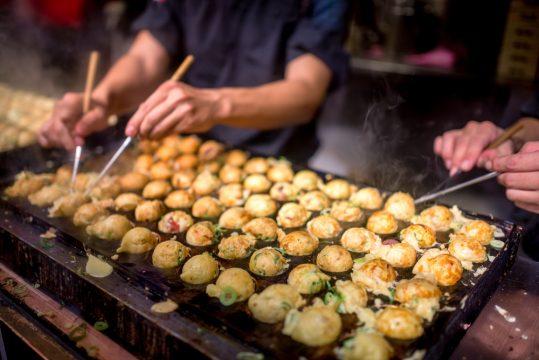 Takoyaki bakken