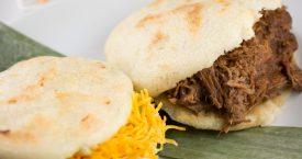 Venezolaans broodje: arepa