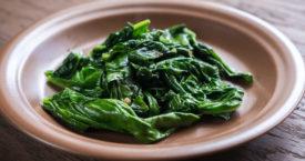 Stop met spinazie bakken!