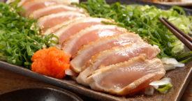 Kipsashimi bestaat en zo smaakt het
