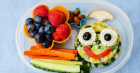 Groente- en fruitsnacks to go