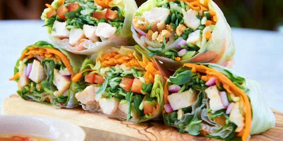 summer rolls recept