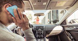 Gratis koffie als je niet belt in de auto