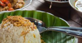 Favo's op de Indonesische rijsttafel