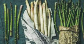 Zo eet je (bijna) het hele jaar asperges