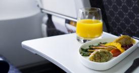 Weet wat je in het vliegtuig eet