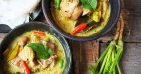 Verschillen tussen Thaise curry's
