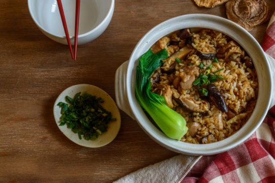 donabe met rijst