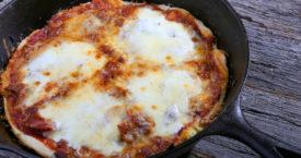 Pizza maken zonder oven