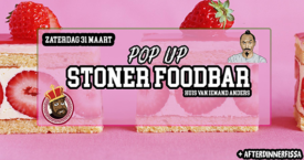 Stoner food bar pop-up