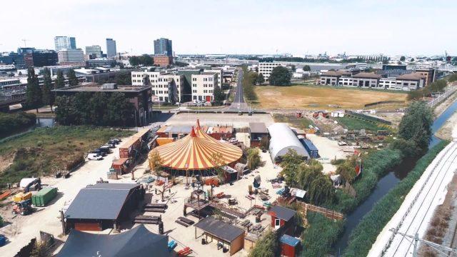 Thuishaven festivalterrein Amsterdam