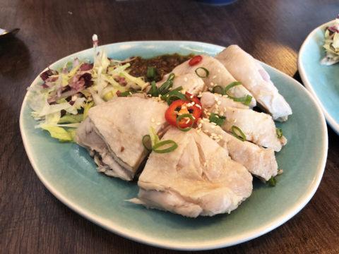 gestoomde kip bij wang's flavour