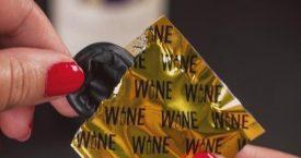 Het wijncondoom