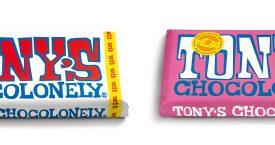Tony's Chocolonely heeft twee nieuwe witte repen