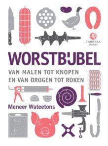 de cover van de Worstbijbel van Meneer Wateetons