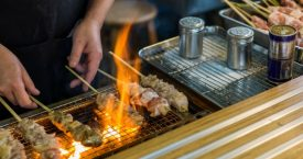 Yakitori & Sake brunch in Dum Dum Palace