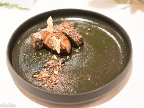 chocolademousse van zijden tofu bij yerba